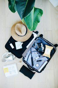 Koffert bagasje storby reise