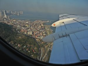 Panama City fra luften
